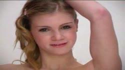 Lovely Russian Teen Striptease