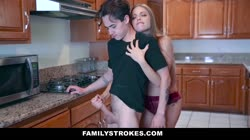 FamilyStrokes - Stud Gets Rid Of Blue Balls With Hot Milf