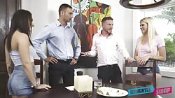 DaughterSwap  Nikki Sweet And Alessia Luna Family Agreement