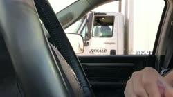 Car Flash - Truck Lady has a good look