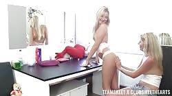 TeamSkeetXClubSweethearts Vanessa Hell Claudia Macc Cayla Lyons